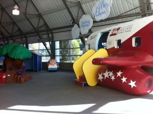 Image result for frontiers of flight museum play area