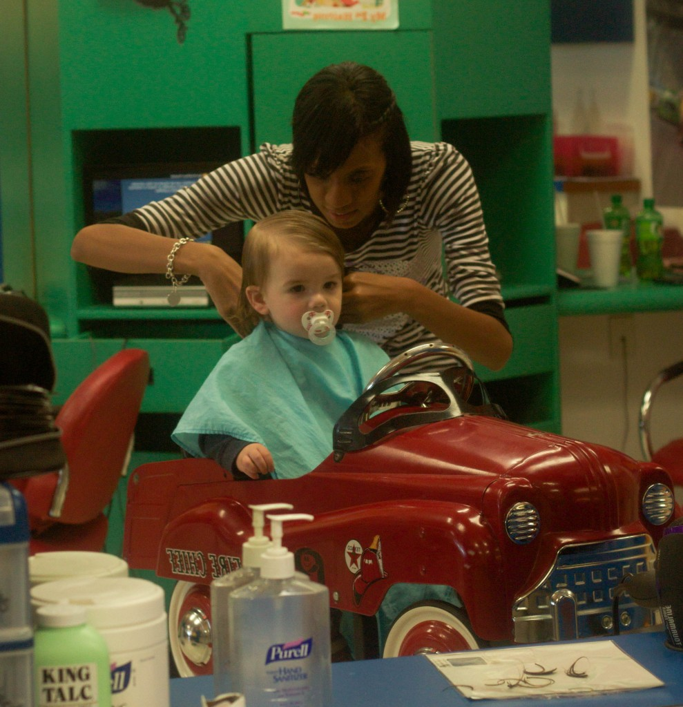 First Haircuts