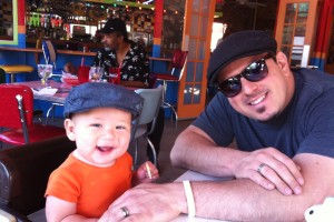On the Chuy's Patio