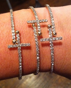 Simply Adorable Jewelry Cross Bracelets