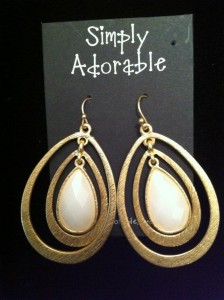 Simply Adorable Jewelry Earrings