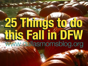 Dallas Moms Blog fall activities with kids in DFW