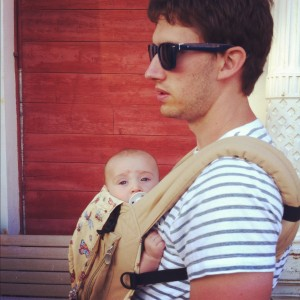 Husband with Baby