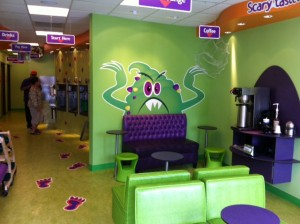 Monster Yogurt review on Dallas Moms Blog, Kid friendly