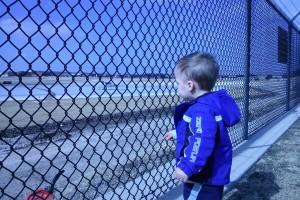 Addison Airport at Fenceline