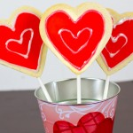 Valentine's Day Cookie Pops with Free Printable