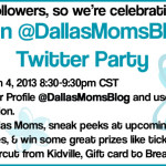 We're Having A #DMBMoms Party! Join Us on Twitter