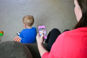 how to balance iPhone family mom