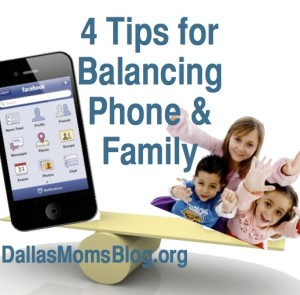 Dallas Moms blog iphone balance