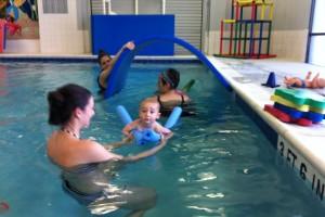 Dolfin Swim school baby lessons