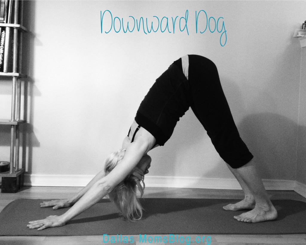 3 Yoga Moves for Moms - Downward Dog