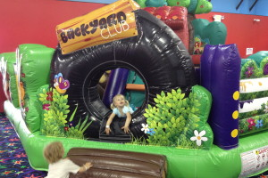 Jump Zone Frisco toddler friendly bounce house
