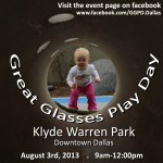 Great Glasses Play Day at Klyde Warren Park