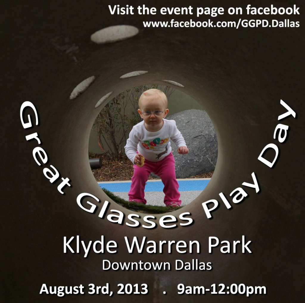 Great Glasses Play Day, Klyde Warren Park in Dallas, August 3, 2013