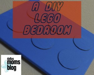 DIY Lego Bedroom