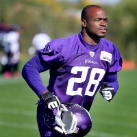 Adrian Peterson loses a son to abuse.