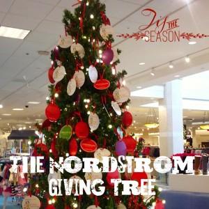 Dallas Moms Blog Nordstrom Giving Tree