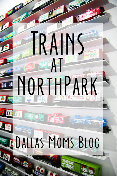 Trains at NorthPark