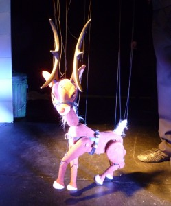 Rudolph was tender and graceful as he flew through across the stage!