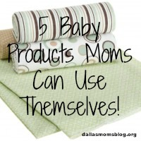 5 Baby Products Moms Can Use