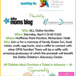 Dallas Moms Blog's First Annual Easter Egg Hunt! {Benefiting the Dallas Children's Advocacy Center}