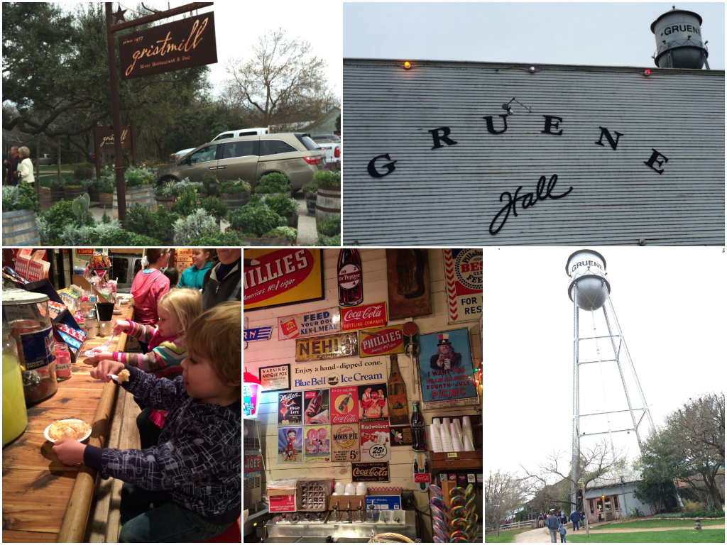 Gruene, TX Collage