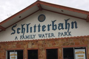 Original Schlitterbahn Waterpark front entrance