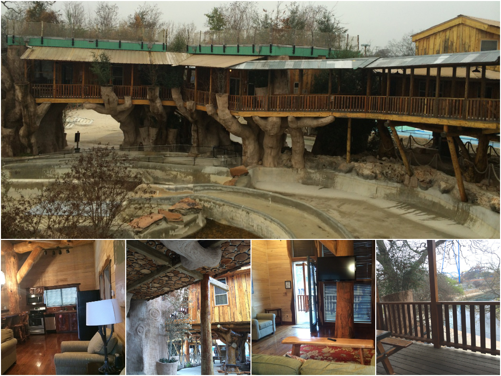Treehaus Luxury Suites at Schlitterbahn Waterpark & Resort, New Braunfels TX | Dallas Moms Blog