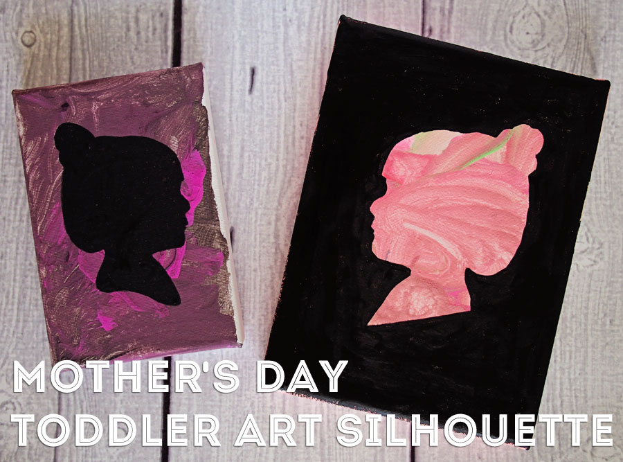 mother's day toddler art