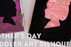Mother's Day Art Silhouette Featured Slide