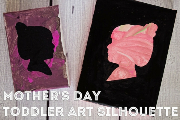 Mother's Day Silhouette - Dallas Moms Blog