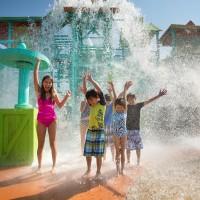 43. White Water Splashaway kids