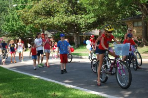 Make sure to check your HOA website for neighborhood parades!