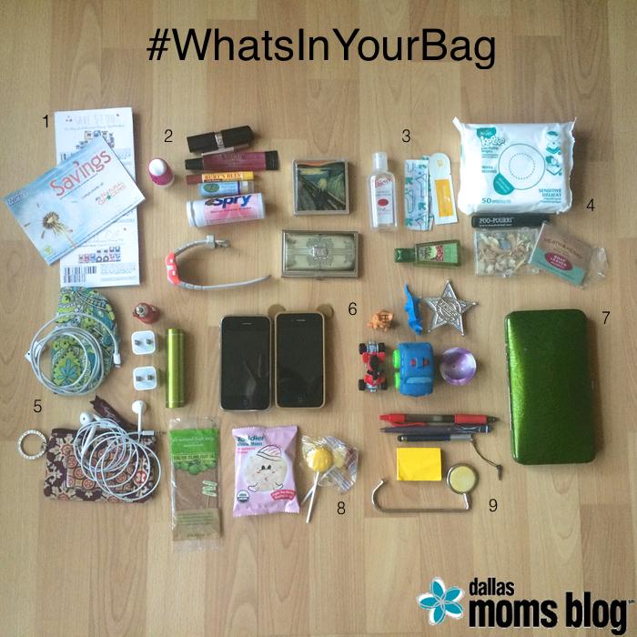 #WhatsInYourBag | Dallas Moms Blog