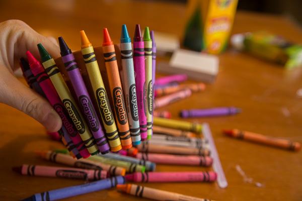 Crayon Flower Pot Teacher Gift-4