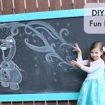 Backyard Chalkboard DIY: A Fun Weekend Project