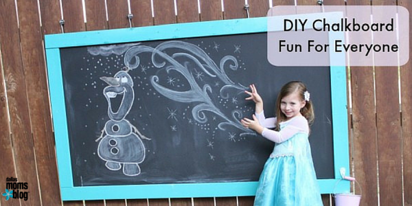DIY Chalkboard Dallas Moms Blog