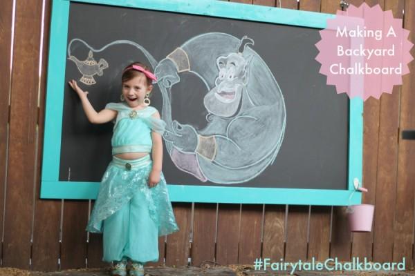 Disney chalk drawings outdoor chalkboard