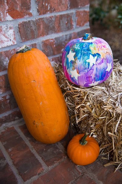 Toddler Painted Pumpkin-18