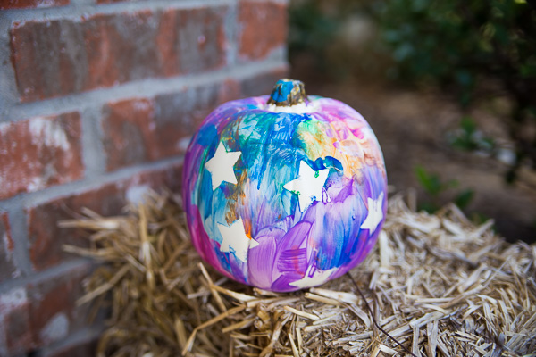 Toddler Painted Pumpkin-20