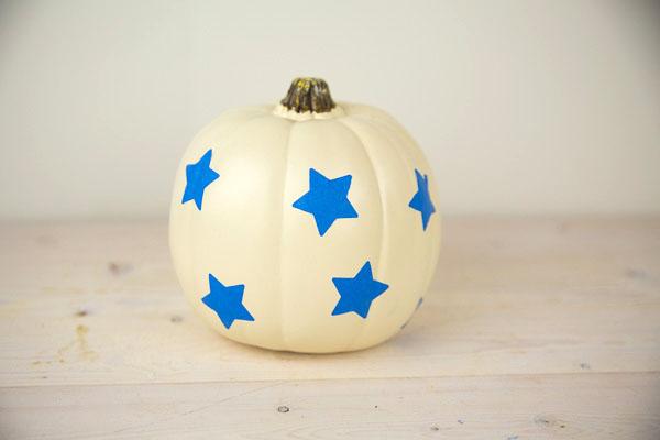 Toddler Painted Pumpkin-6