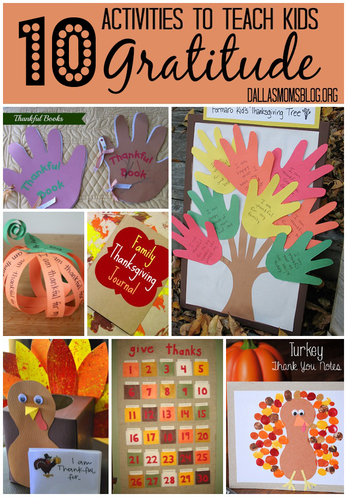 10 Activities to Teach Kids Gratitude