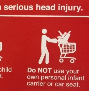 car seat injury