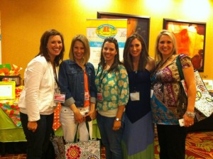 A few of the Dallas Moms Blog girls at 2012's Project Mom!