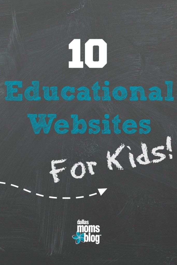Educational Websites for Kids Pinterest