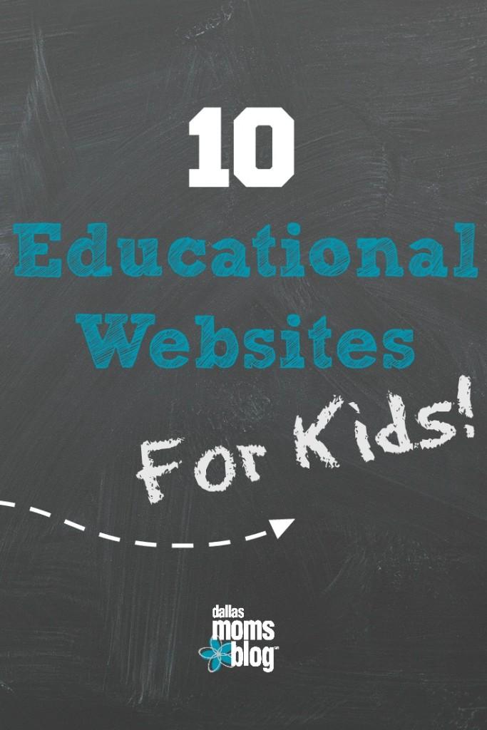 Educational Websites for Kids Pinterest