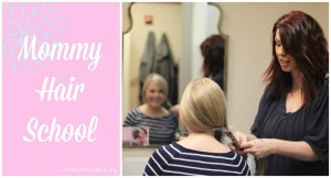 Mommy Hair School Collage