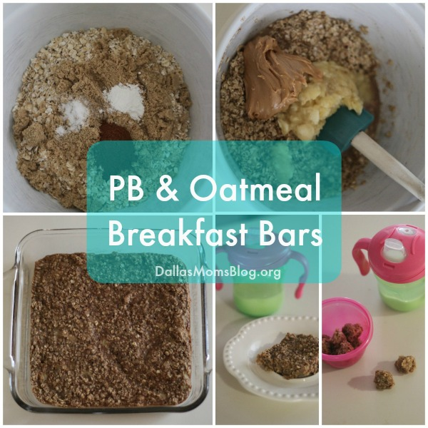 Easy Oatmeal Breakfast Bars for Kids Insta