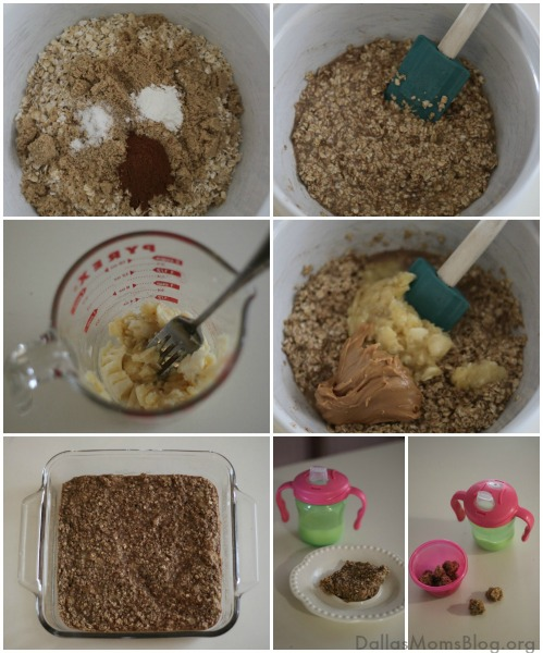 Easy Oatmeal Breakfast Bars for Kids