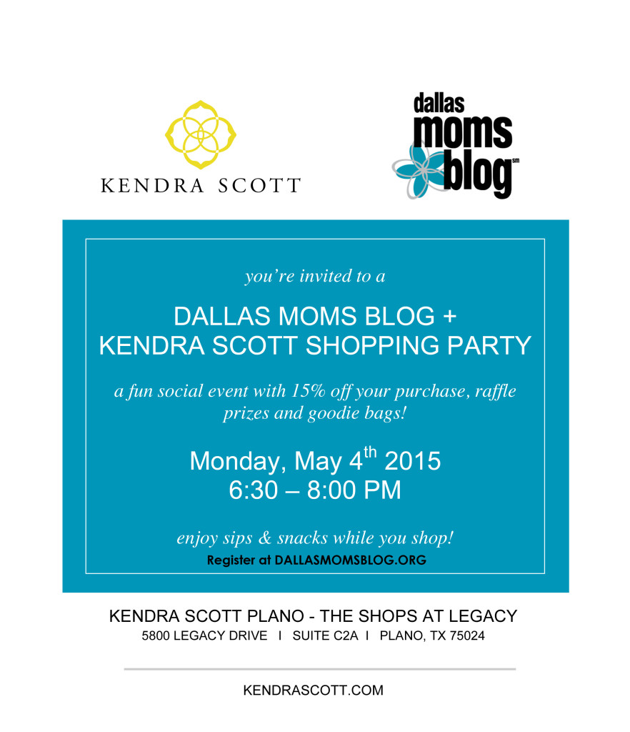 Microsoft Word - 5.4.15 Dallas Mom's Blog Shopping Party Invite.